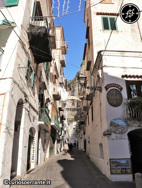 Amalfi - le vie all'interno del borgo