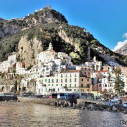 Amalfi - panoramica dal mare