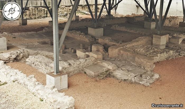Riva del Garda - resti del complesso termale romano