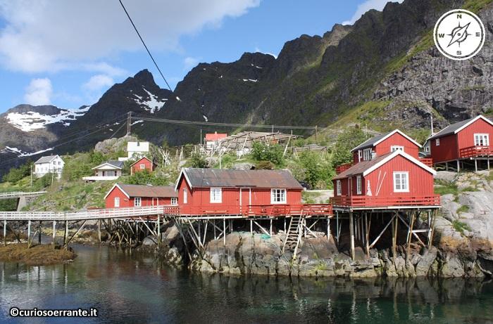 Isole Lofoten - il villaggio di Å i Lofoten