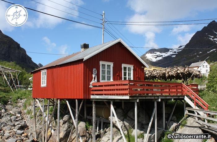 Isole Lofoten - tipica abitazione di pescatori di Å