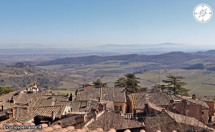 Montepulciano - Panoramica sulla Valdorcia