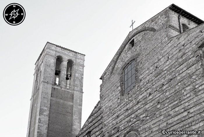 Montepulciano - Particolare della facciata del duomo