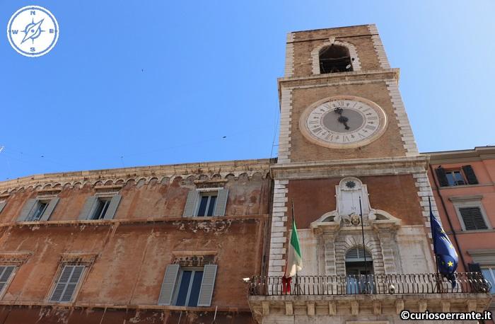 Ancona - Piazza del Plebiscito - Torre Civica