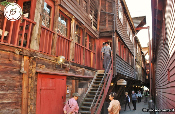 Bergen - Bryggen vecchi magazzini della lega anseatica