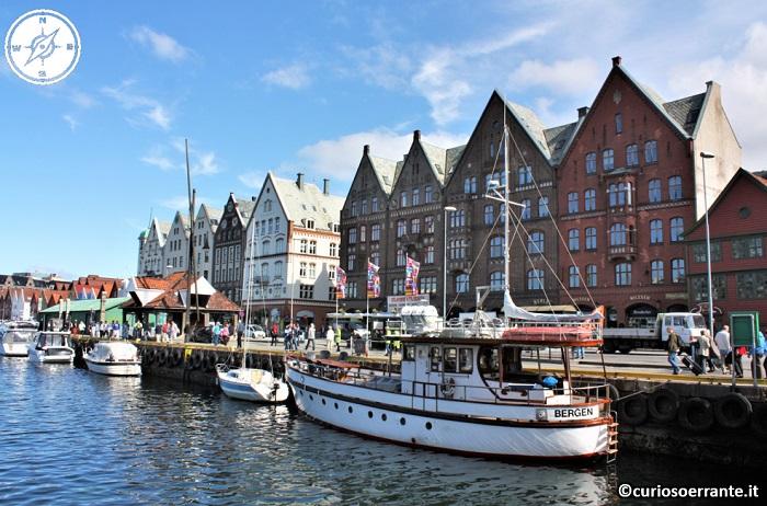 Bergen - importante porto marittimo