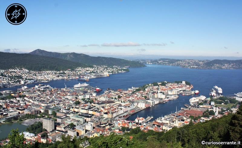 Bergen - vista della città