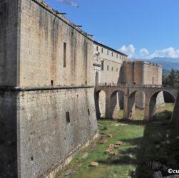 Forte Spagnolo dell'Aquila - parte orientale