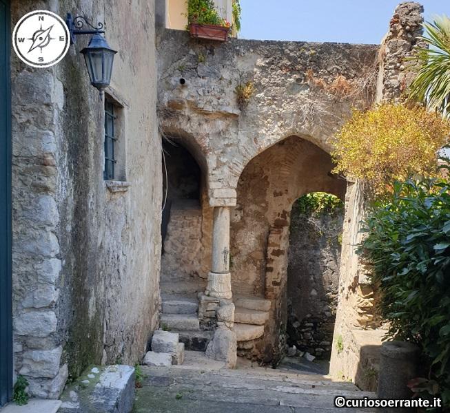 Gaeta - Resti del palazzo ducale di Docibile II