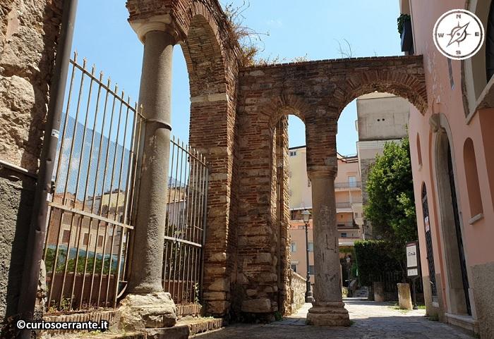 Gaeta - archi del Palazzo ducale di Docibile II