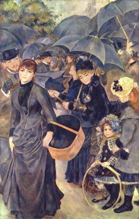 Pierre-Auguste Renoir - Gli ombrelli 1886