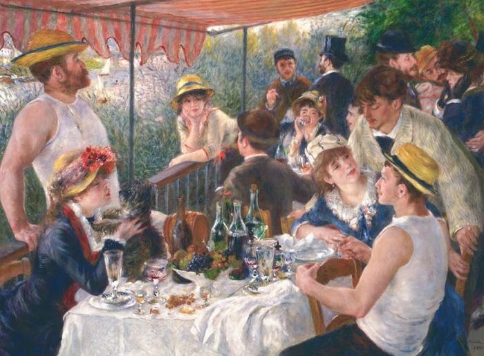 Pierre-Auguste Renoir - La colazione dei canottieri 1881