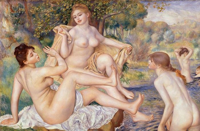 Pierre-Auguste Renoir - Le grandi bagnanti 1887