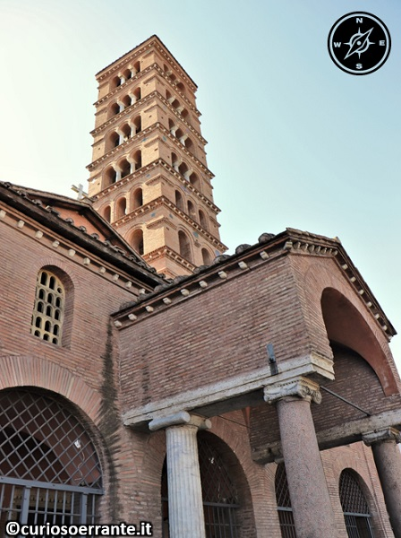Roma - Basilica di Santa Maria in Cosmedin - campanile