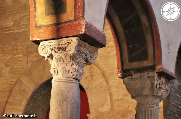 Roma - Basilica di Santa Maria in Cosmedin - colonne romane
