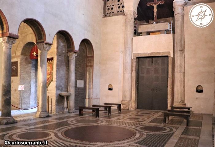 Roma - Basilica di Santa Maria in Cosmedin - navata centrale