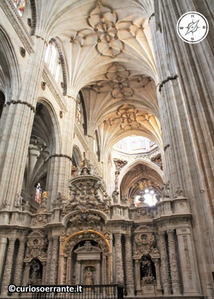 Salamanca - La Cattedrale Nuova navata