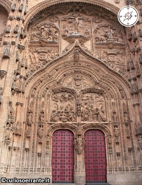 Salamanca - La Cattedrale Nuova portale laterale