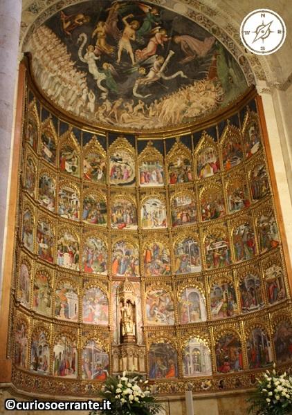 Salamanca - La cattedrale vecchia - pala d'altare
