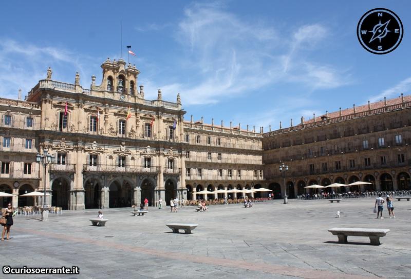 Salamanca - Plaza Mayor e Municipio
