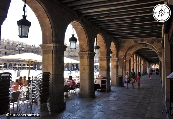 Salamanca - Plaza Mayor porticato