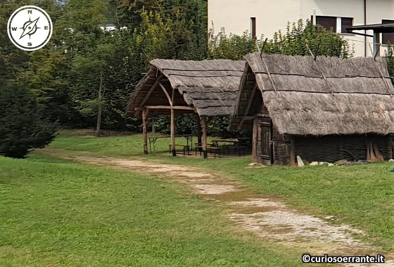 Terramara di Montale - Parte del villaggio ricostruito