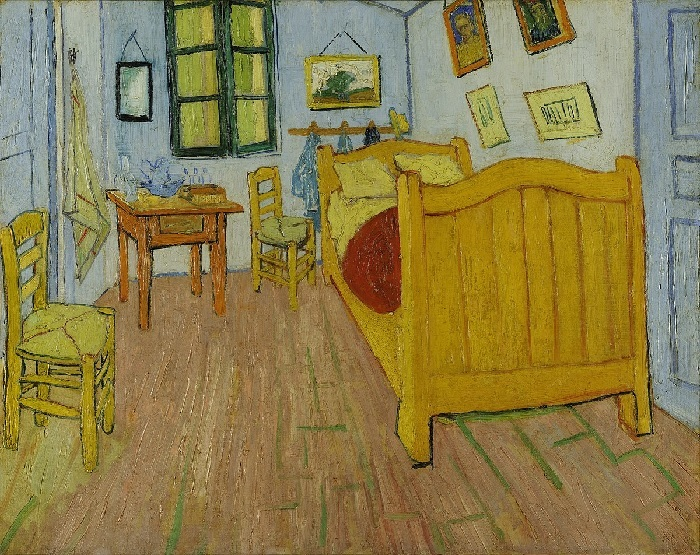 Van Gogh - La camera di Vincent ad Arles