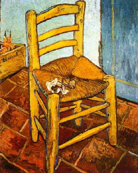 Van Gogh - La sedia di Van Gogh