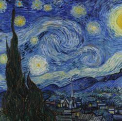 Van Gogh - Notte stellata 1889
