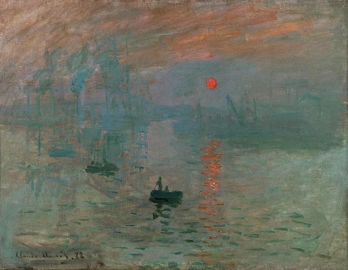 Claude Monet - Impressione levar del sole 1872