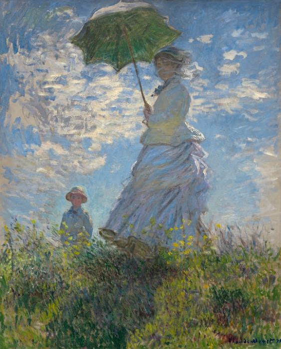 Claude Monet - La passeggiata 1875
