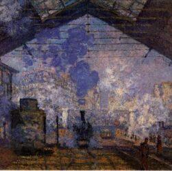 Claude Monet - La stazione Saint-Lazare 1877