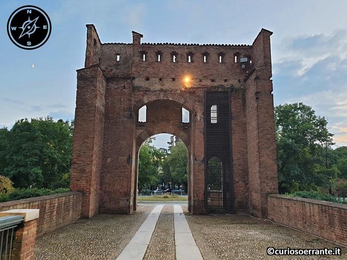 Il Castello Visconteo di Pavia - entrata