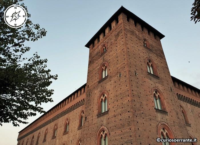 Il Castello Visconteo di Pavia - torre