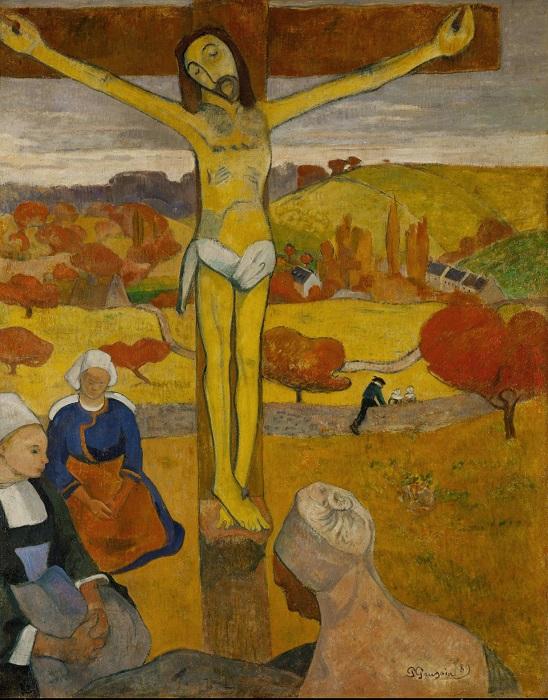 Paul Gauguin - Il Cristo giallo 1890