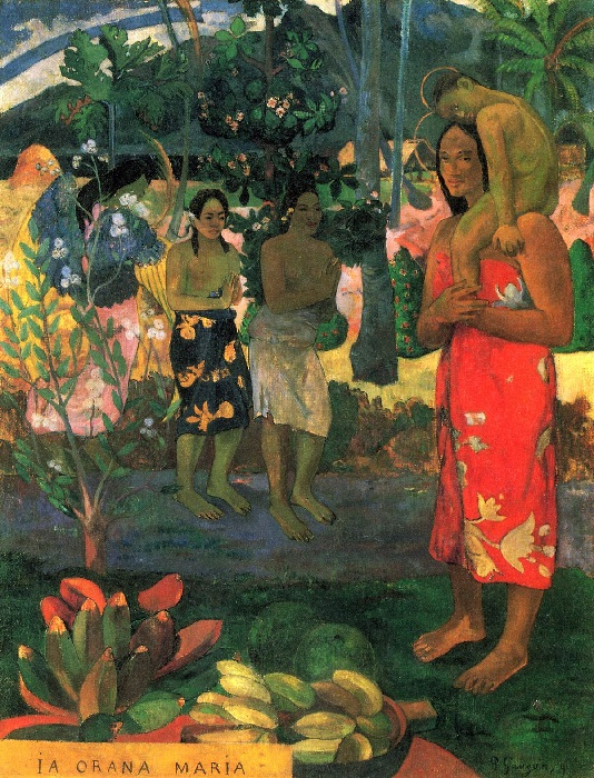 Paul Gauguin - La Orana Maria 1891