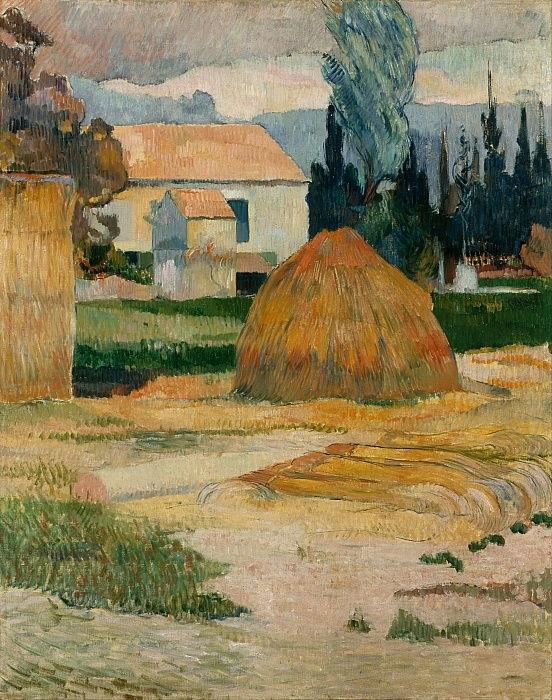 Paul Gauguin - Paesaggio vicino Arles 1888