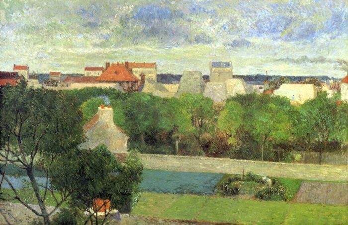Paul Gauguin - The Market Gardens of Vaugirard 1879