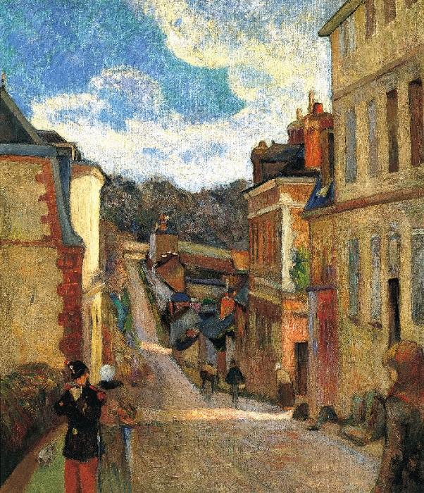 Paul Gauguin - Via Jouvenet a Rouen 1884