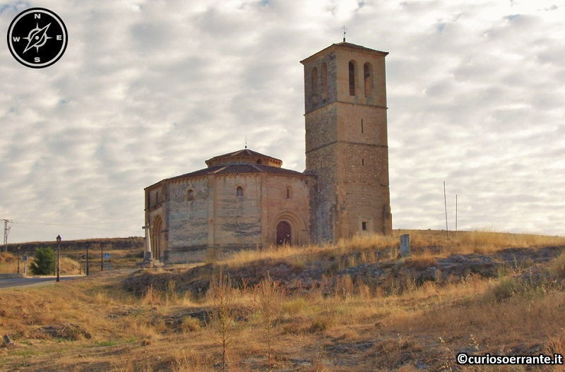 Segovia - Igliesia de la vera Cruz