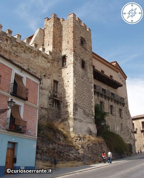 Segovia - Resti della cinta muraria