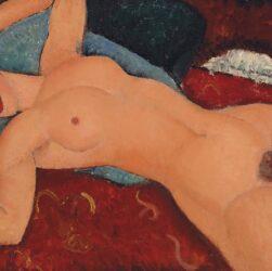 Amedeo Modigliani - Nudo sdraiato (1917)