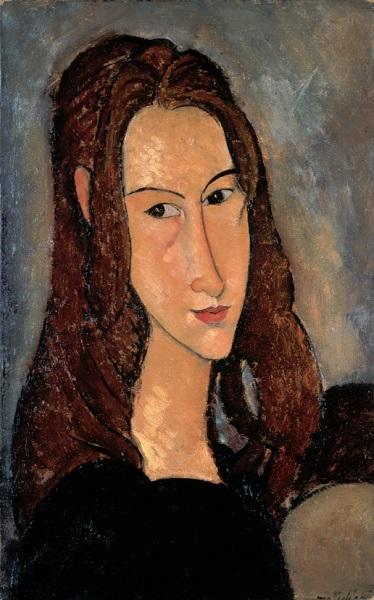 Amedeo Modigliani - Ritratto di Jeanne Hébuterne (1918)