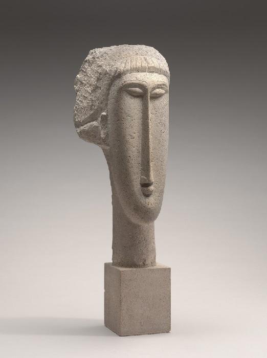 Amedeo Modigliani - Testa di donna (1911)