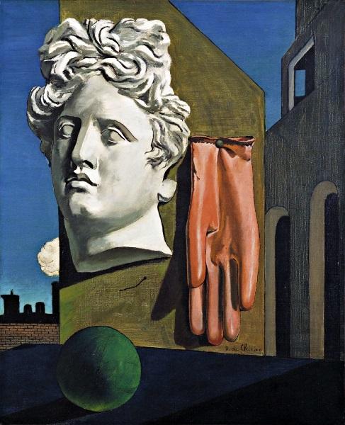 Giorgio de Chirico - Canto d'Amore (1914)