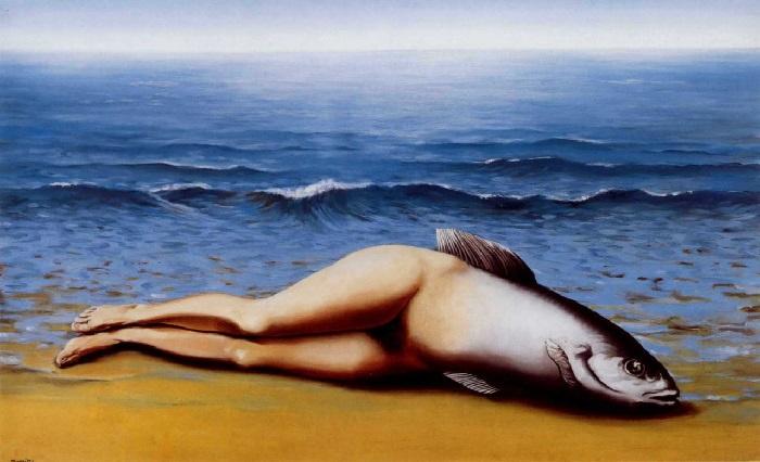 René Magritte - Collective Invenction (1934)