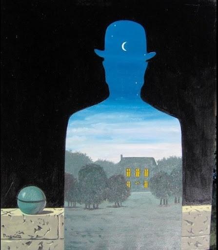 René Magritte - Il donatore felice (1966)