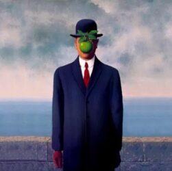 René Magritte - Il figlio dell'uomo (1964)