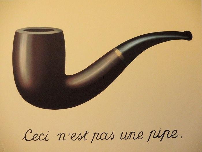 René Magritte - La Trahison des images (1928-29)