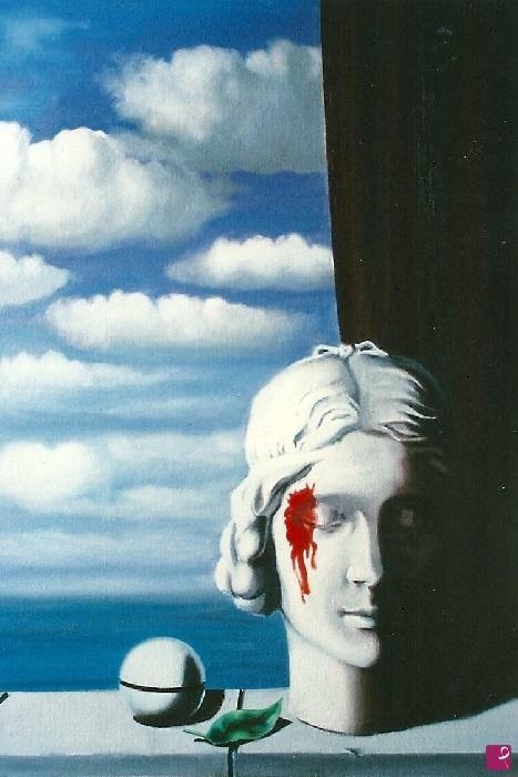 René Magritte - La memoria (1948)